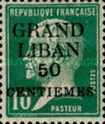 [French Postage Stamps Surcharged & Overprinted as No. 1-9, type A9]