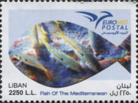 [EUROMED Issue - Fishes in the Mediterranean Sea, Typ AJD]