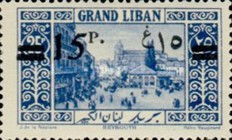 [Issues of 1925 Surcharged in English and Arabic, Typ AK]