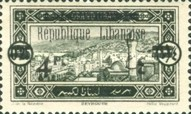"[Issues of 1925 and Provisional Stamps of Lebanon Overprinted ""Republique Libanaise"", Typ AR]"