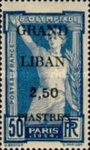 [French Postage Stamps Surcharged & Overprinted, type B6]
