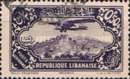[Airmail - Potez 29-4 Biplane and Local Motives, type CI]