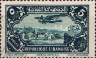 [Airmail - Potez 29-4 Biplane and Local Motives, type CM]