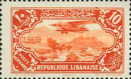 [Airmail - Potez 29-4 Biplane and Local Motives, type CN]