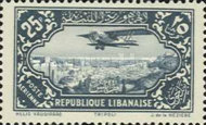 [Airmail - Potez 29-4 Biplane and Local Motives, Typ CP]