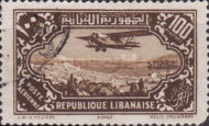 [Airmail - Potez 29-4 Biplane and Local Motives, Typ CR]