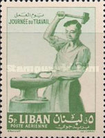 [Airmail - Labour Day, Typ IT]