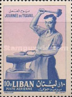 [Airmail - Labour Day, Typ IT1]