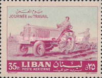 [Airmail - Labour Day, Typ IU1]