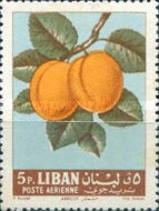 [Airmail - Fruits, Typ JJ]