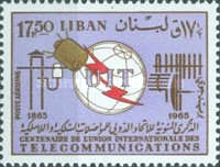 [Airmail - The 100th Anniversary of I.T.U., Typ MS2]