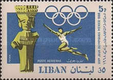 [Airmail - Olympic Games - Mexico City, Mexico, type QH]