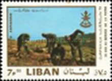 [Airmail - The 25th Anniversary of Independence - The Lebanese Army, Typ RJ]