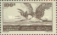 [Airmail - Grey Herons - Issue of 1946 Overprinted