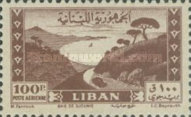 [Airmail - Jounieh Bay and Grand Serail Palace, Typ XCH6]