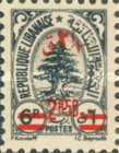 [Cedar of Lebanon - Surcharged, type XDG]