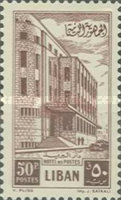 [Cedar of Lebanon and General Post Office, Typ XDQ4]