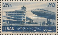 [Airmail - Opening of Beirut International Airport, Typ XDW1]