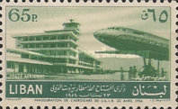 [Airmail - Opening of Beirut International Airport, Typ XDW3]