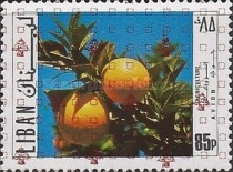 [Airmail - Previous Stamps Overprinted in Different Colors, Typ XXA23]