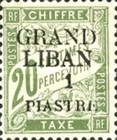[French Postage Due Stamps of 1893-1926 Surcharged, type A1]