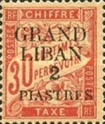 [French Postage Due Stamps of 1893-1926 Surcharged, type A2]