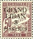 [French Postage Due Stamps of 1893-1926 Surcharged, Typ A3]