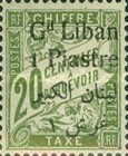 [French Postage Due Stamps of 1893-1926 Surcharged, type B1]