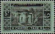 [Postage Due Stamps of 1925 Overprinted, type D4]