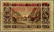 [Nos. 11, 13 & 15 Overprinted in Carmine Colour, Typ F]
