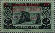 [Nos. 11, 13 & 15 Overprinted in Carmine Colour, Typ F1]