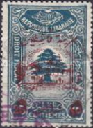 [Revenue Stamps Surcharged, type C]