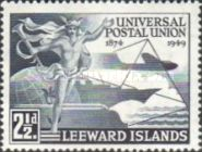 [The 75th Anniversary of the Universal Postal Union, Typ U]