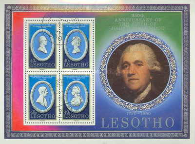 [The 250th Anniversary of the Birth of Josiah Wedgwood, 1730-1795, Typ ]