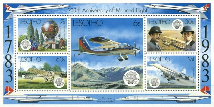 [The 200th Anniversary of Manned Flight, Typ ]