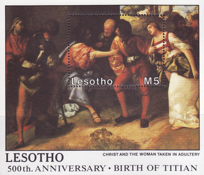 [Christmas - The 500th Anniversary of the Birth of Titian, 1488-1575, Typ ]