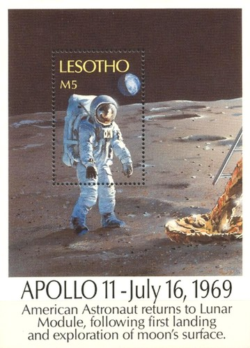 [The 20th Anniversary of First Manned Moon Landing, type ]