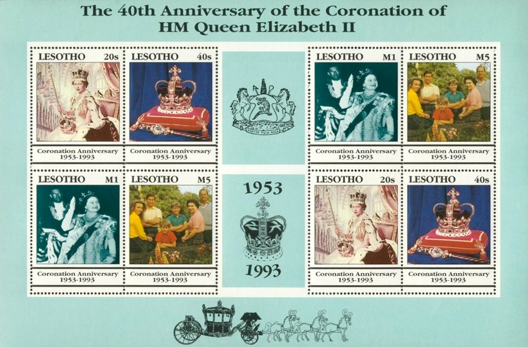 [The 40th Anniversary of the Coronation of Queen Elizabeth II, type ]