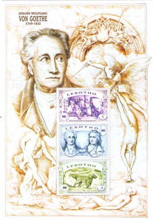 [The 250th Anniversary of the Birth of Johann Wolfgang von Goethe, 1749-1832, Typ ]