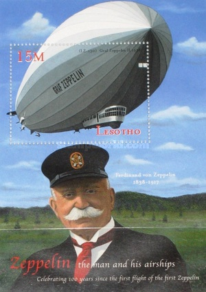 [The 100th Anniversary of Zeppelin Airship, type ]