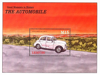 [History of the Automobile, Typ ]