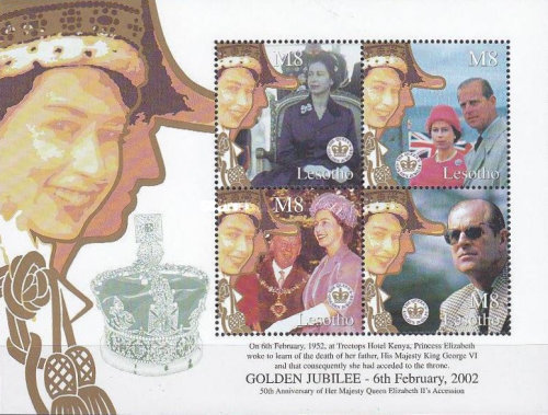 [The 50th Anniversary of the Accession of Queen Elizabeth II, Typ ]