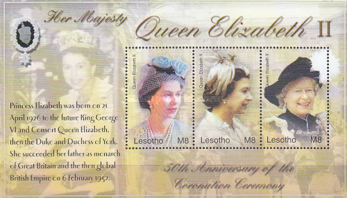 [The 50th Anniversary of the Coronation of Queen Elizabeth II, type ]