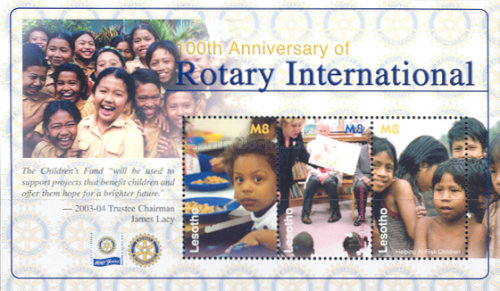 [The 100th Anniversary of Rotary International, type ]
