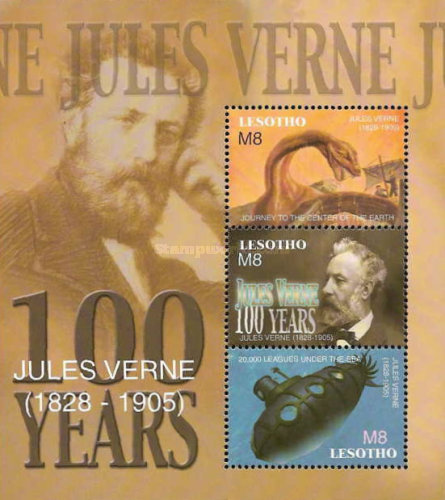 [The 100th Anniversary of the Death of Jules Verne, 1828-1905, type ]