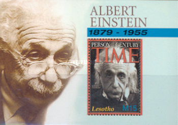 [The 50th Anniversary of the Death of Albert Einstein, 1879-1956, type ]