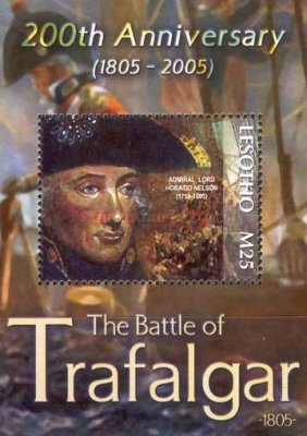 [The 200th Anniversary of Battle of Trafalgar, type ]