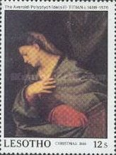 [Christmas - The 500th Anniversary of the Birth of Titian, 1488-1575, Typ AAN]