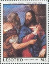[Christmas - The 500th Anniversary of the Birth of Titian, 1488-1575, type AAU]