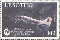[The 125th Anniversary of International Red Cross - Aircraft, type ABA]